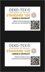 CERTIFICATO OEKO TEXT - Standard 100